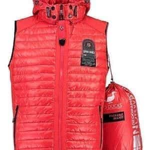 Geographical Norway Heren Bodywarmer Vainqueur Rood Bendelli 1