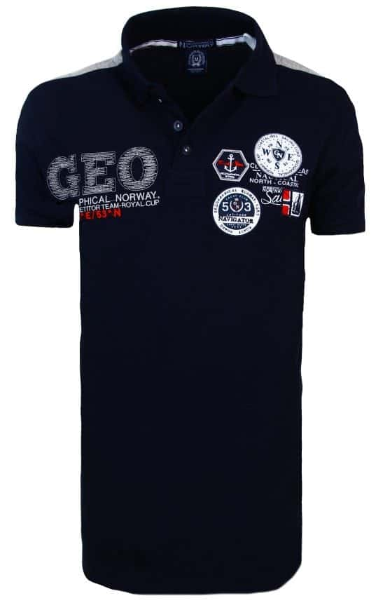 Geographical Norway Heren Poloshirts Katal 15