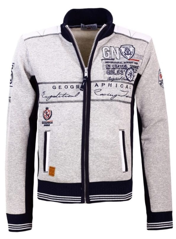 Geographical Norway Heren Sweater Fanker Grijs  13 Large
