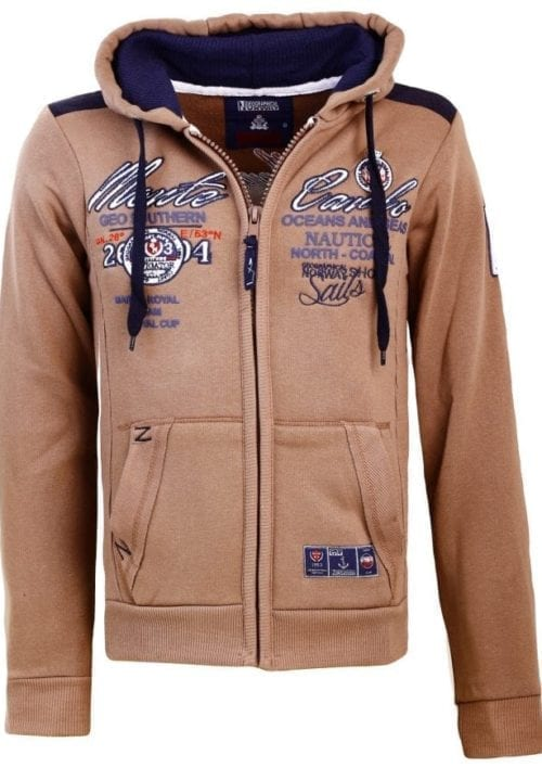Geographical Norway Heren Sweater Goda Bruin  6 Large