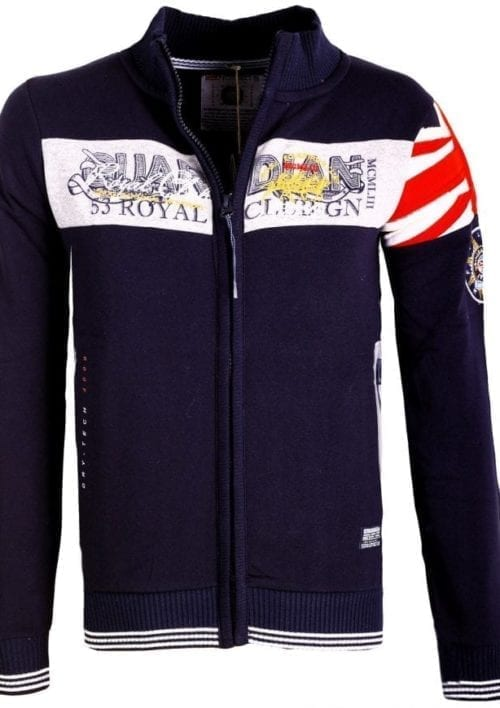 Geographical Norway Vest Royal Polo Guardian Blauw 1 Large