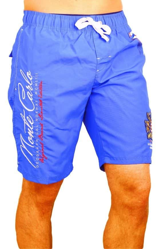 Zwembroek Geographical Norway Zwemshorts Monte Carlo Kobaltblauw Model 1 Large