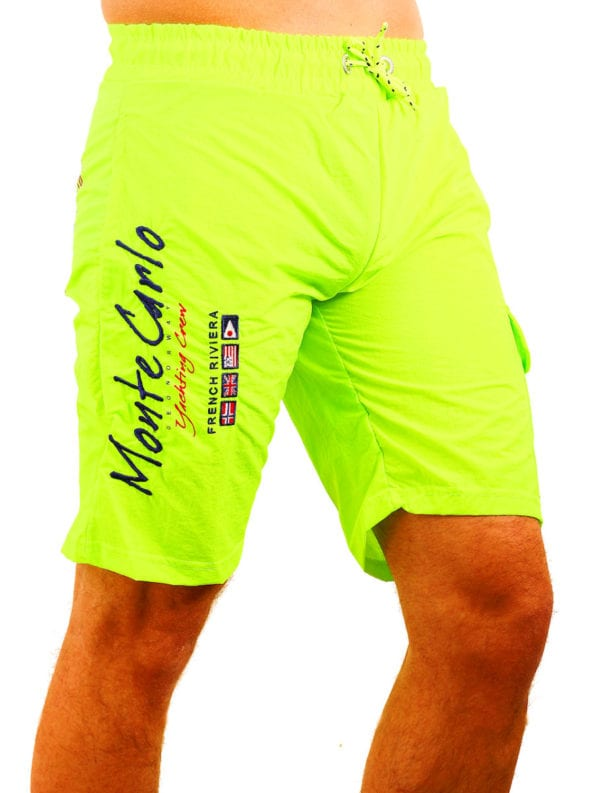 Geographical Norway zwembroek groen quaractere swimshort Bendelli (5)