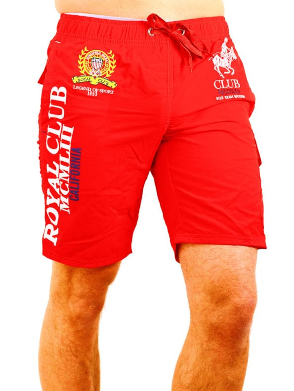 Geographical Norway zwembroek rood queen swimshort Bendelli (2)
