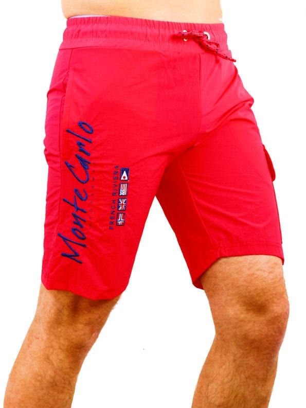 Geographical Norway zwembroek roze quaractere swimshort Bendelli (2)