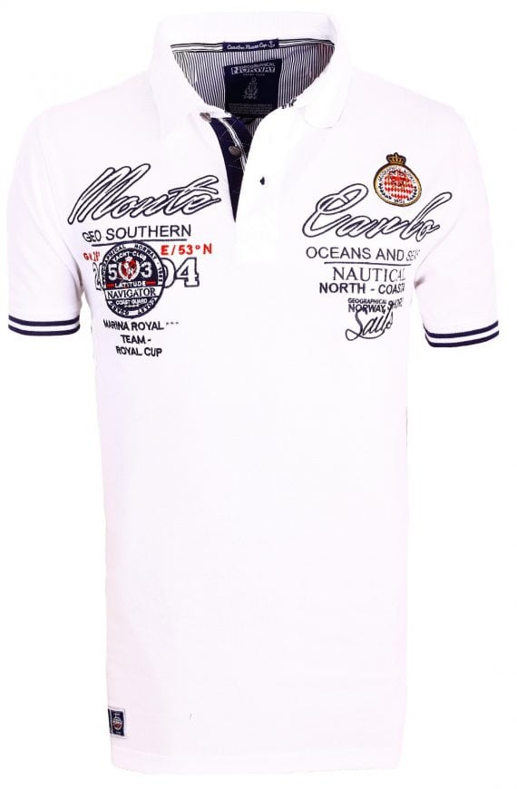 Geographical_Norway_Poloshirts_Herenpolo_Kare_Monte_Carlo_Bendelli_Wit-1-Large