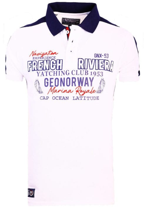 Geographical Norway polo wit french riviera marina royal Kampus bendelli (2)