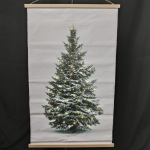 LED CANVAS KERSTBOOM 75X120CM 04