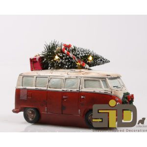 BUS MET KERSTBOOM LED - KE 3396